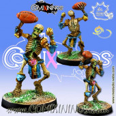 Undead / Egyptian Tomb Kings - Skeleton nº 3 or Thro-Ra - Meiko Miniatures