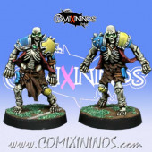 Undead / Egyptian - Set of 2 Undead Skeletons - Willy Miniatures
