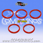 Set of 5 Guard Skill Rings for 25 mm Bases - Comixininos
