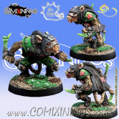 Ratmen - Skipper Assassin Star Player  - Meiko Miniatures