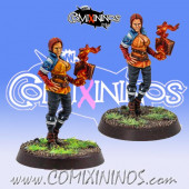 Amazons - Veronica the Sorceress Wizard - Fireforge Games