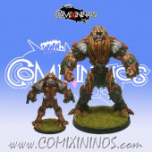 Halflings / Wood Elves - Ancient Oak Treeman nº 3 - SP Miniaturas