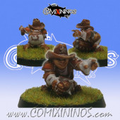 Halflings - Tiano Chicken Devourer Halfling Star Player - SP Miniaturas