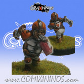 Halflings - Chicken Devourers Halfling nº 10 - SP Miniaturas