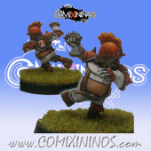 Halflings - Chicken Devourers Halfling nº 12 - SP Miniaturas