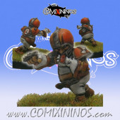 Halflings - Chicken Devourers Halfling nº 14 - SP Miniaturas