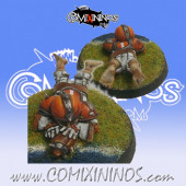 Halflings - Chicken Devourers Halfling nº 3 - SP Miniaturas