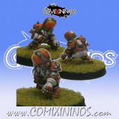 Halflings - Chicken Devourers Halfling nº 5 - SP Miniaturas