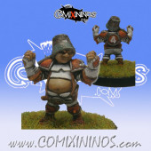 Halflings - Chicken Devourers Halfling nº 6 - SP Miniaturas