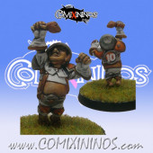 Halflings - Chicken Devourers Halfling nº 8 - SP Miniaturas
