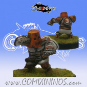 Halflings - Chicken Devourers Halfling nº 9 - SP Miniaturas
