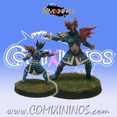 High Elves - Silver Arrows High Elf Blitzer nº 1 - SP Miniaturas
