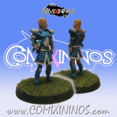 High Elves - Silver Arrows High Elf Captain - SP Miniaturas