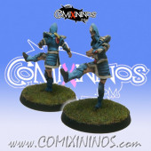 High Elves - Silver Arrows High Elf Kicker Lineman nº 7 - SP Miniaturas