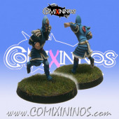 High Elves - Silver Arrows High Elf Lineman nº 4 - SP Miniaturas