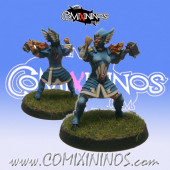 High Elves - Silver Arrows High Elf Thrower nº 1 - SP Miniaturas