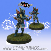 High Elves - Silver Arrows High Elf Thrower nº 2 - SP Miniaturas
