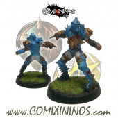Humans - Lions of Fire Human Blitzer nº 4 - SP Miniaturas