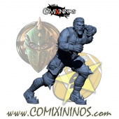 Humans - Resin Lions of Fire Human Catcher nº 1 - SP Miniaturas