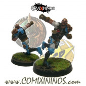Humans - Metal Lions of Fire Human Catcher nº 2 - SP Miniaturas
