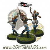 Humans - Metal Lions of Fire Human Catcher nº 3 - SP Miniaturas