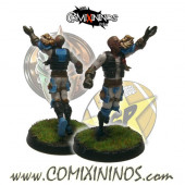 Humans - Metal Lions of Fire Human Catcher nº 4 - SP Miniaturas