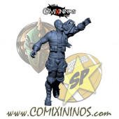 Humans - Resin Lions of Fire Human Catcher nº 4 - SP Miniaturas