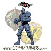 Humans - Metal Lions of Fire Human Thrower nº 2 - SP Miniaturas