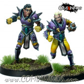 Wood / Dark Elves - Shadow Twins Set of 2 Star Players - SP Miniaturas