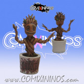 Set of 2 Rooted Baby Groot Markers - SP Miniaturas