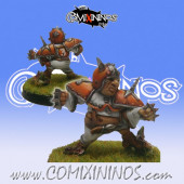 Halflings - Chucky Chicken Devourers Halfling Star Player  - SP Miniaturas