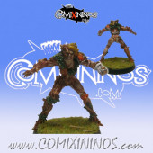 Halflings / Wood Elves - Dryad Halfling Star Player - SP Miniaturas