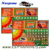 Set of 2 Standard 29 mm Neoprene Dugouts - Comixininos