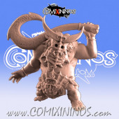 Orcs - Moe Star Player - Punga Miniatures
