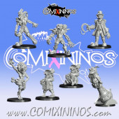 Goblins - GobFreak Stars Extra Set of 7 Players and 4 Markers - Games Miniatures