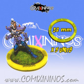 Set of 5 Sure Feet Skill Rings for 32 mm Bases - Comixininos