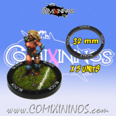 Set of 5 Tackle Skill Rings for 32 mm Bases - Comixininos
