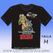 Camiseta - Las mujeres me esquivan, pero yo tengo Tackle - Talla M
