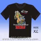 T-Shirt - Women dodge me, but I' ve got Tackle - Size XL