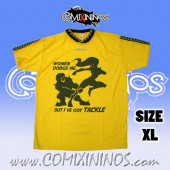 Deluxe T-Shirt - Women dodge me / Yellow - Size XL