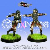 Dark Elves - Set 1 of 2 Tanatos Blitzers nº 1 and nº 2 - MK1881