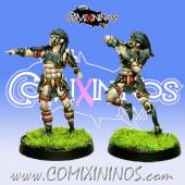 Dark Elves - Tanatos Linemen Pack 2 of 2 Players – MK1881