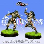 Dark Elves - Tanatos Linemen Pack 3 of 2 Players – MK1881
