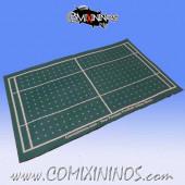 Standard Green Felt Gaming Mat - Comixininos