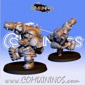 Dwarves - Metal Tarik Dwarf Bazooka - Fanath Art
