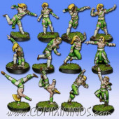 Wood Elves - Cabiri Team of 12 Players - MK1881