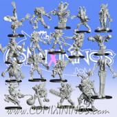 Goblins - GobFreak Show Base Team of 18 Players - Games Miniatures