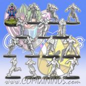 Elven Union - Star Elf Team of 15 Players - SP Miniaturas