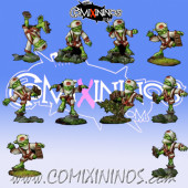 Goblins - Tengu Set of 10 Players - Rolljordan