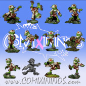 Goblins - Tengu Set of 12 Players - Rolljordan